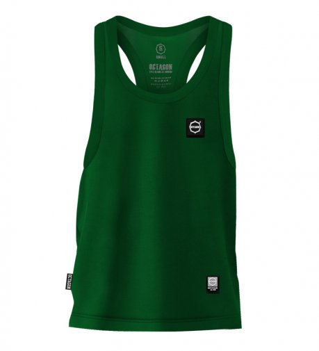 Tank Top Octagon Small Logo green