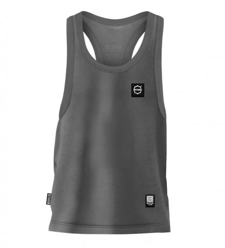 Tank Top Octagon Small Logo graphite