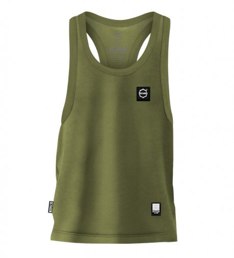 Tank Top Octagon Small Logo khaki