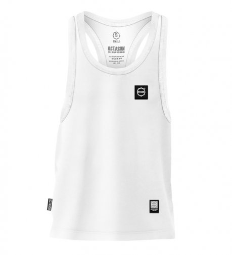 Tank Top Octagon Small Logo white
