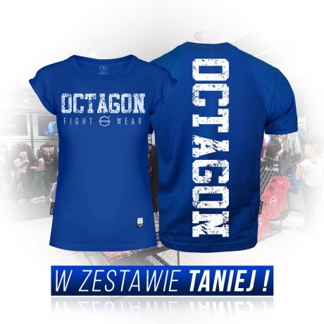 Zestaw T-shirtów Fight Wear Octagon blue