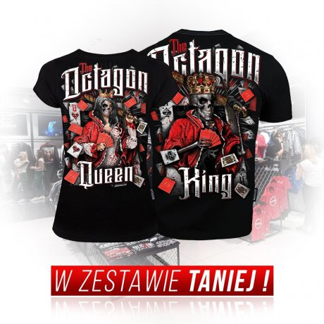 Zestaw T-shirtów King & Queen black